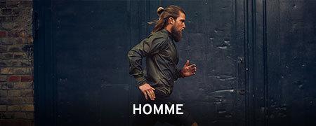 Textile Running Homme
