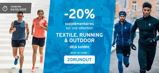 -20% Textile Running