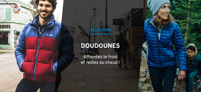 Sélection doudounes