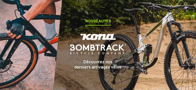 Nouveautés Kona & Bombtrack