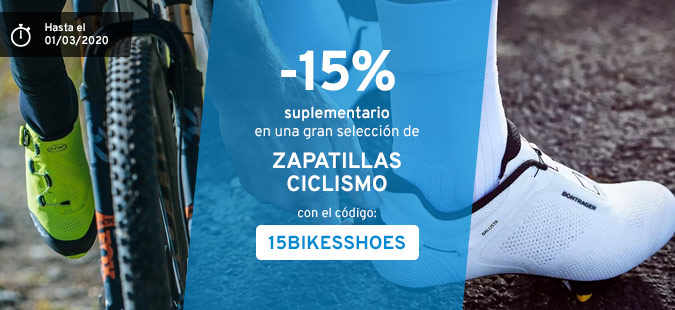 -15% chaussures vélo