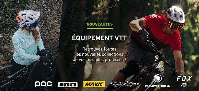 Nouveautés Equipement VTT