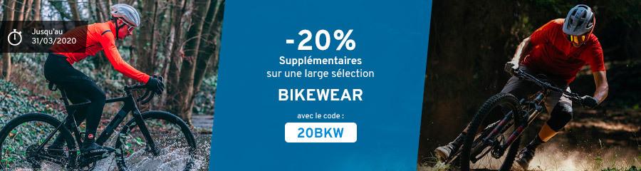 -20% Bikewear