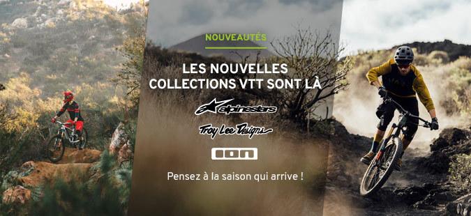 Nouvelles collections VTT