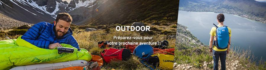 Outdoor - Préparez votre prochaine