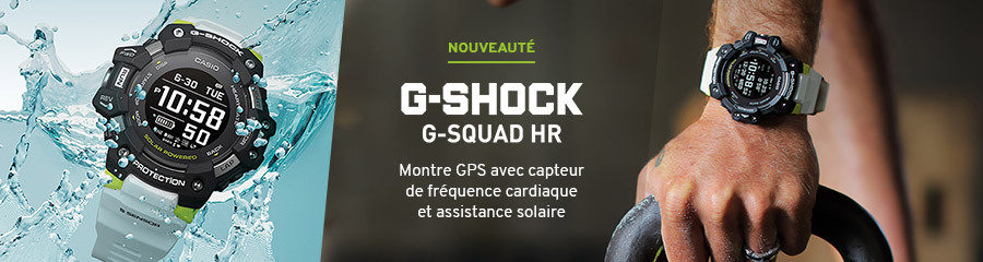 Casio G-Squad HR