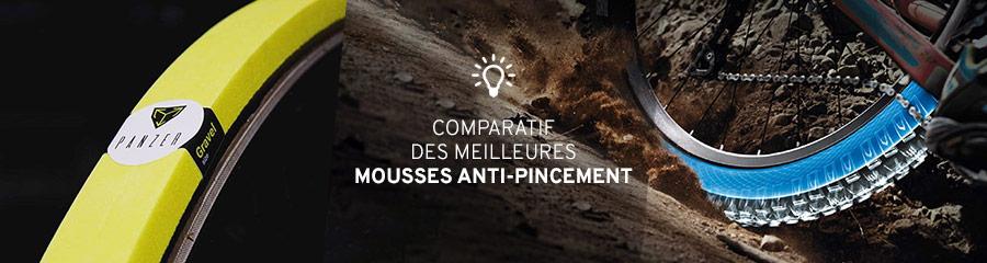 Comparatif mousses anti-pincement