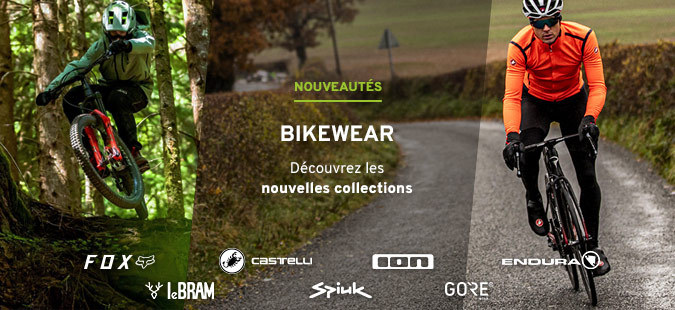 Nouvelle collection Bikewear