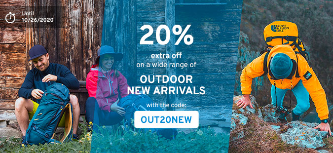 Outdoor Days : 20% off New Arrivals