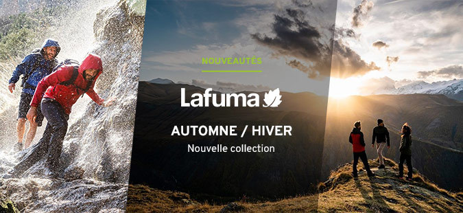 Nouvelle collection Lafuma