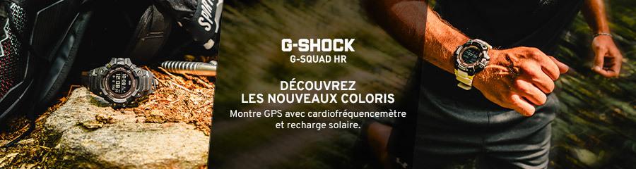 Casio G-Squad HR