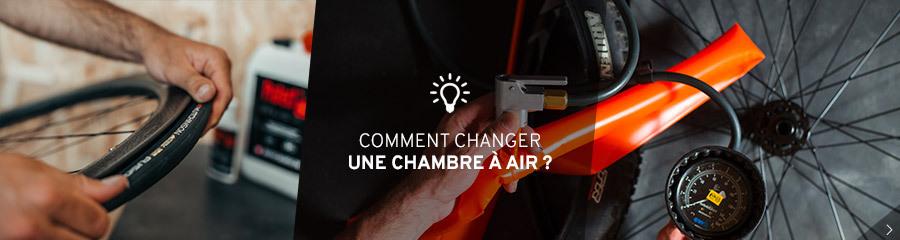Changer sa chambre à air