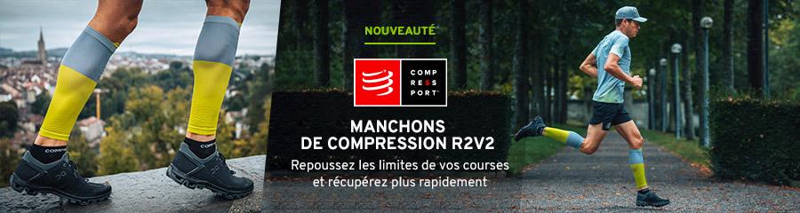 Compressport Manchons de compression R2V2