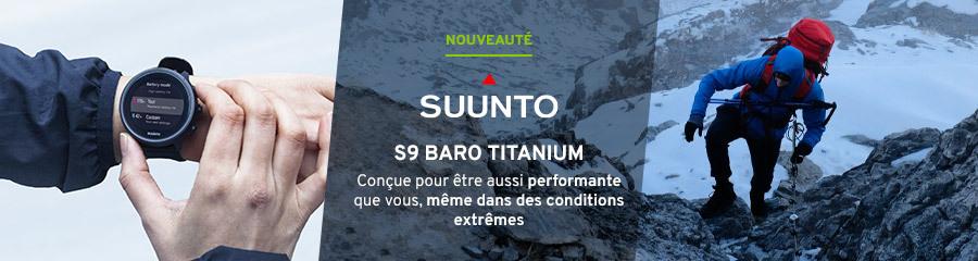 Suunto 9 Baro Titanium