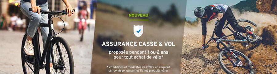 Assurance vélos
