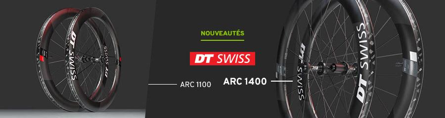 DT Swiss Roues Arc 1100 & 1400