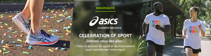 Asics celebration of sport