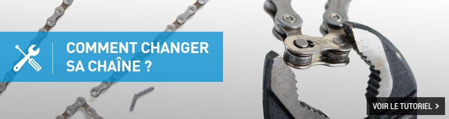 Changer sa chaîne