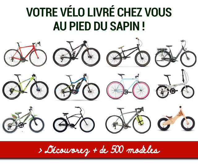 Plus de 500 modèles de vélo