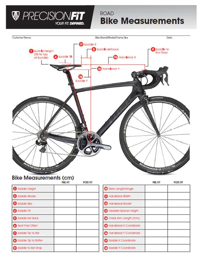 Formualire étude posturale vélo