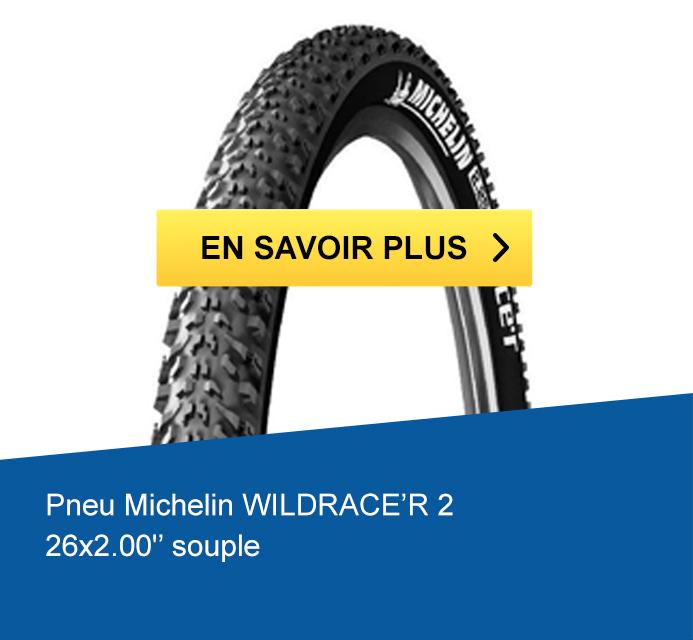 Pneu Michelin WILDRACE'R 2 / 26x2.00 souple