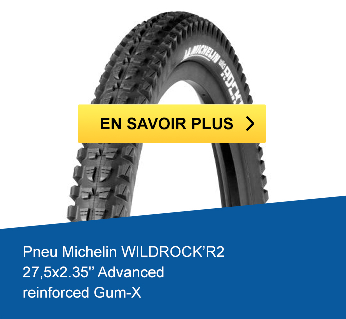 Pneu Michelin WILDROCK'R2 27,5x2.35 Advanced reinforced Gum-X