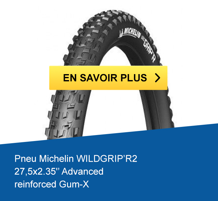 Pneu Michelin WILDGRIP'R2 27,5x2.35 Advanced reinforced Gum-X