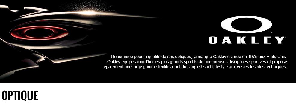 Le shop Oakley by Alltricks