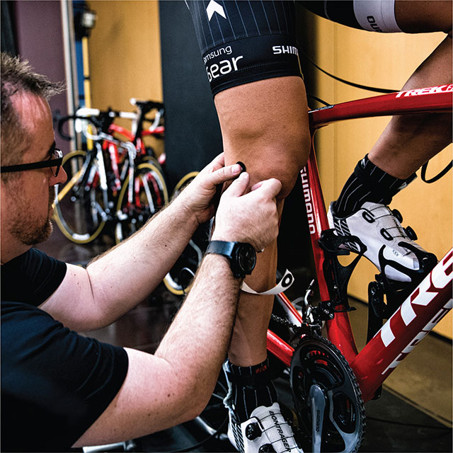Etude posturale vélo Alltricks