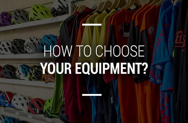 Choisir ses équiquements vélos