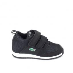 Chaussure bebe lacoste light 316 1 bb noir blanc 22