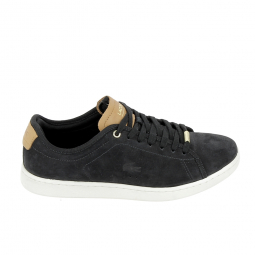 Basket mode, SneakerBasket -mode - Sneakers LACOSTE Carnaby Evo 317 8 Noir Marron