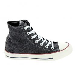 Basket mode, SneakerToile CONVERSE All Star Hi Noir Blanc