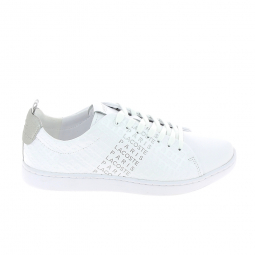 Basket mode, SneakerBasket -mode - Sneakers LACOSTE Carnaby Evo Blanc Gris