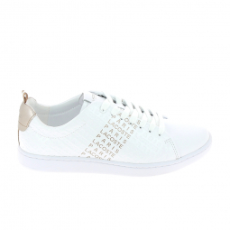 Basket mode, SneakerBasket -mode - Sneakers LACOSTE Carnaby Evo Blanc Rose