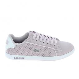 Basket mode, SneakerBasket -mode - Sneakers LACOSTE Graduate Violet Clair Blanc