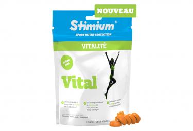Gommes Energétiques Stimium Vital Ginseng 3x5 gommes
