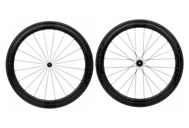 Fast Forward Carbon F6r Fct Tubular Dt350 Wheelset   9x100   9x130mm   Shimano Sram Black Matt