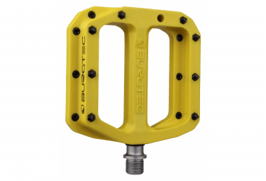 Burgtec MK4 Composite Flat Pedals Burgtec Yellow