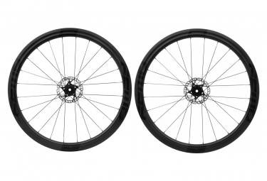 Fast Forward Wheelset F4D FCC Carbon Disc DT240S SP | 12x100 - 12x142mm | Body Shimano/Sram | Matte Black