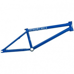 Image of Cadre bmx freestyle federal stevie churchill v2 ics matt blue 20 6