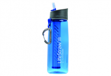 Gourde LIFESTRAW GO avec paille filtrante Bleu