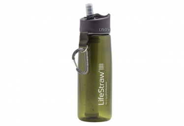 LIFESTRAW GO 2 STAGES charcoal Filter Khaki