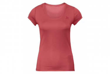 Odlo Active F Dry Light Women Short Sleeves Tee Red L