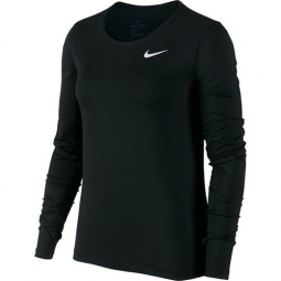 Sweats Nike Top LS All Over Mesh