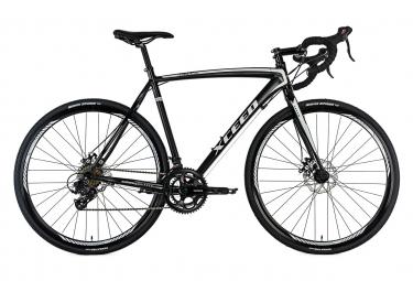 Vélo de course 28'' Xceed Gravel bike noir TC 58 cm KS Cycling