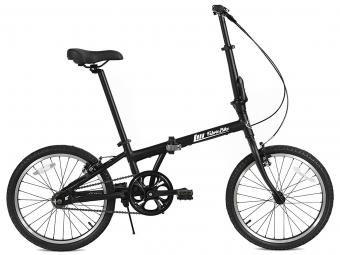 Vélo Pliant FabricBike Folding 20  Matte Black, Aluminium