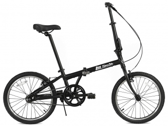 Vélo Pliant FabricBike Folding 20 Noir Mat, Aluminium