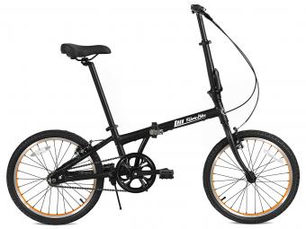 Vélo Pliant FabricBike Folding 20  Matte Black et Orange, Aluminium