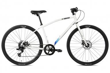 Vélo Hybride FabricBike Commuter 28'', SRAM 8V, Freins à Disque Tektro, Blanc
